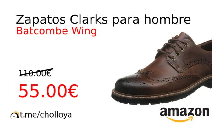 5fcd71860 Chollo YA! Zapatos Clarks para hombre