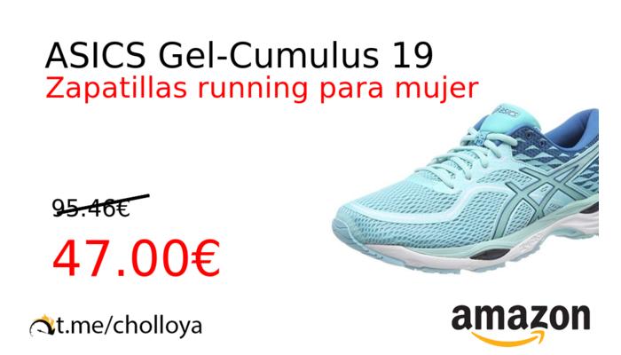 asics cumulus mujer zapatillas running