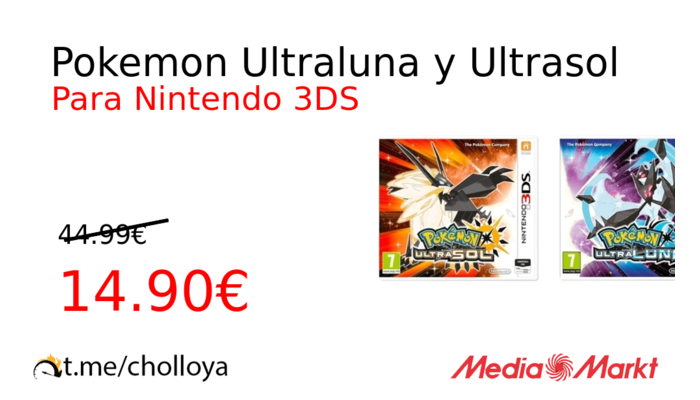Pokemon Ultraluna y Ultrasol