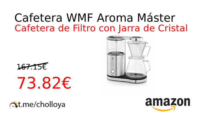 Cafetera WMF Aroma Máster