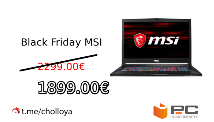 Black Friday MSI