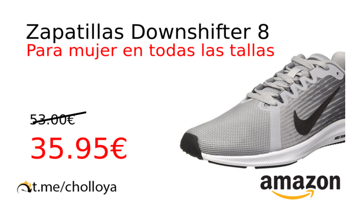 Zapatillas Downshifter 8