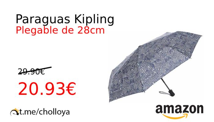 garantía de alta calidad Mejor precio variedad de diseños y colores Chollo YA! Paraguas Kipling