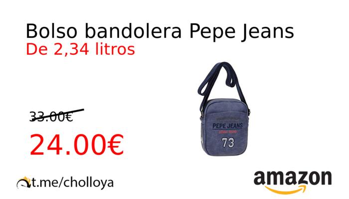 desigual en el rendimiento grandes variedades profesional de venta caliente Chollo YA! Bolso bandolera Pepe Jeans