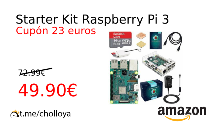 Starter Kit Raspberry Pi 3