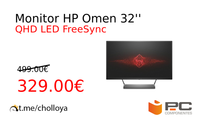 Monitor HP Omen 32''