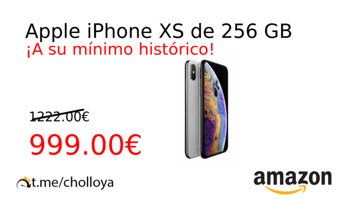 Apple iPhone XS de 256 GB