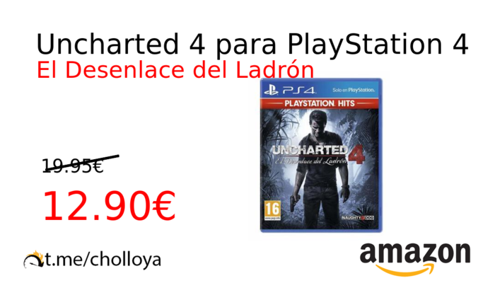 Uncharted 4 para PlayStation 4