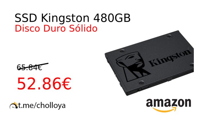 SSD Kingston 480GB