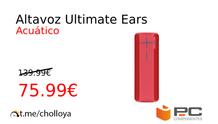 Altavoz Ultimate Ears