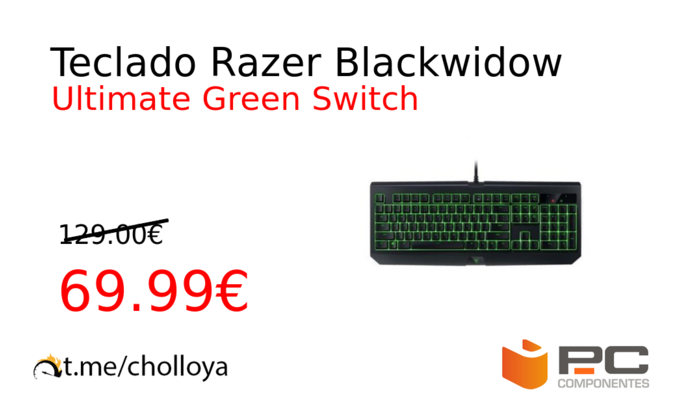 Teclado Razer Blackwidow