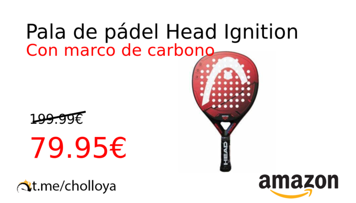 Pala de pádel Head Ignition