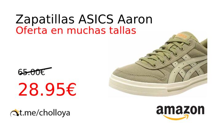 Chollo YA! Zapatillas ASICS Aaron