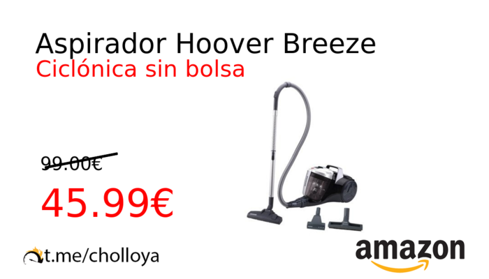 Aspirador Hoover Breeze
