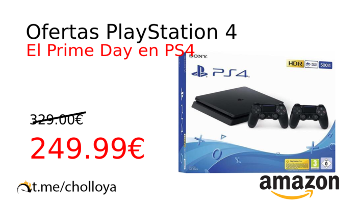 Ofertas PlayStation 4