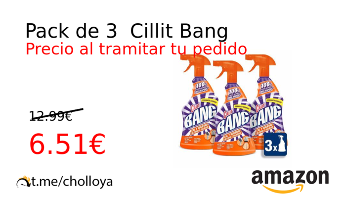 Pack de 3  Cillit Bang