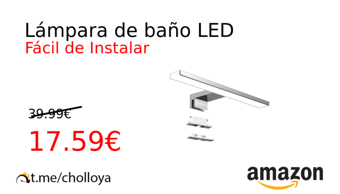 Lámpara de baño LED