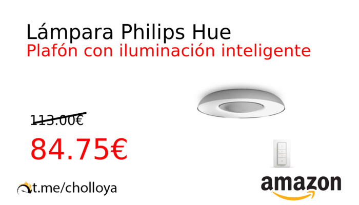Lámpara Philips Hue