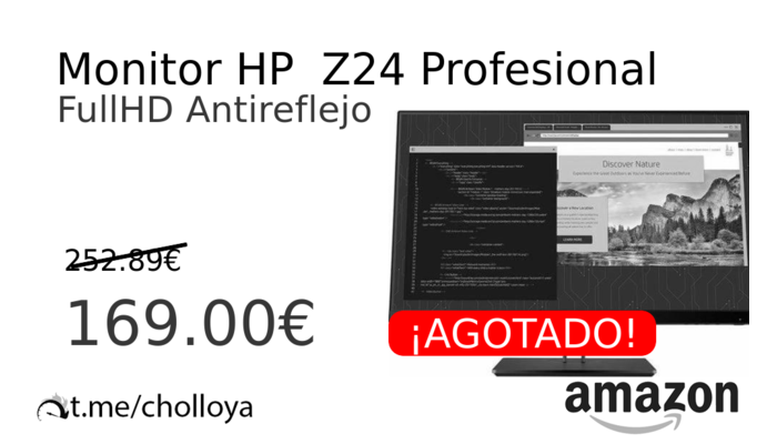 Monitor HP  Z24 Profesional