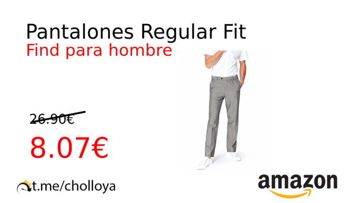 Pantalones Regular Fit