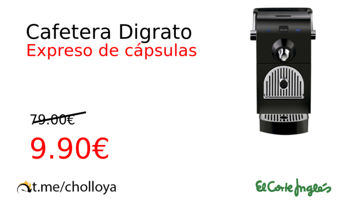 Cafetera Digrato