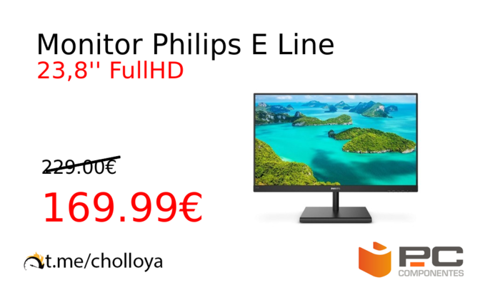 Monitor Philips E Line