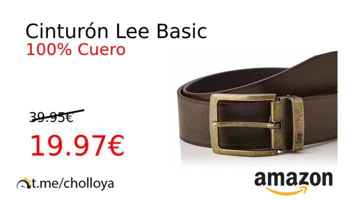 Cinturón Lee Basic
