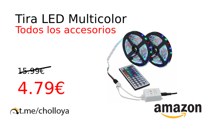 Tira LED Multicolor