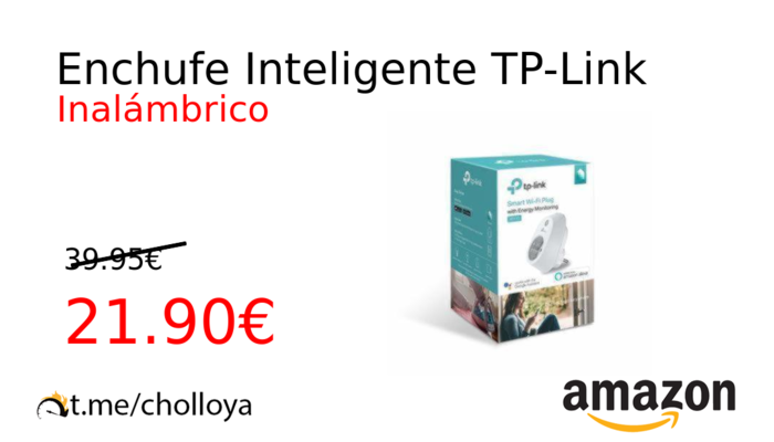 Enchufe Inteligente TP-Link