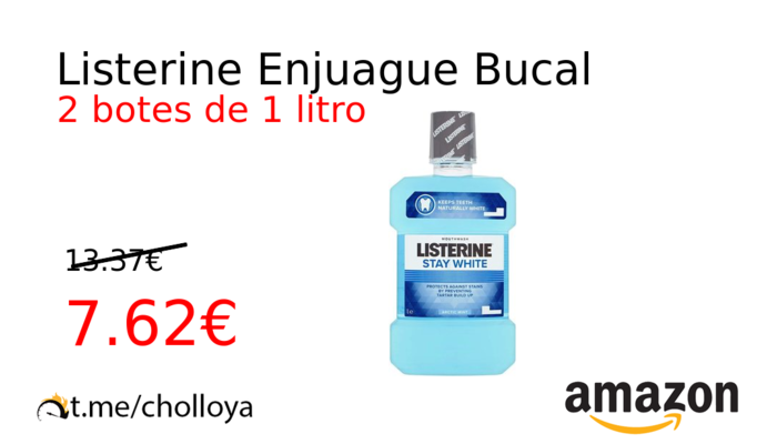 Listerine Enjuague Bucal