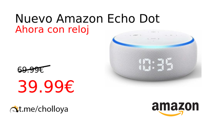 Nuevo Amazon Echo Dot