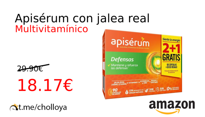 Apisérum con jalea real