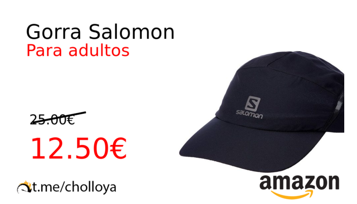 Gorra Salomon