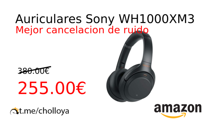 Auriculares Sony WH1000XM3