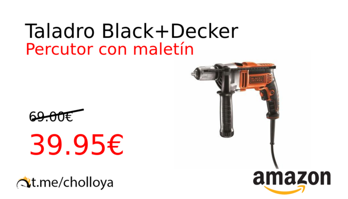 Taladro Black+Decker