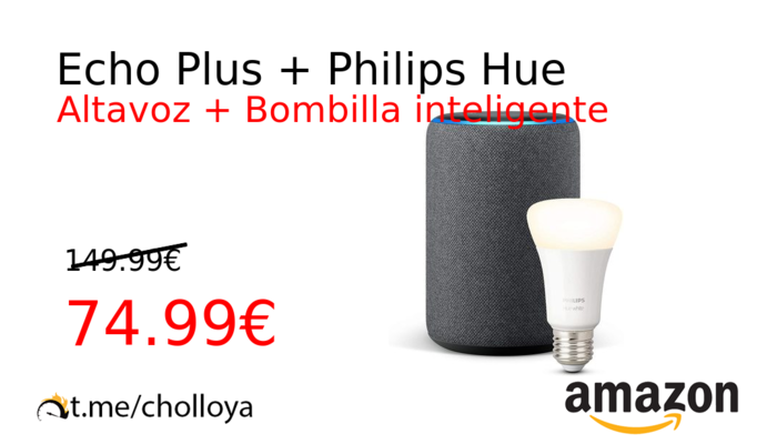 Echo Plus + Philips Hue