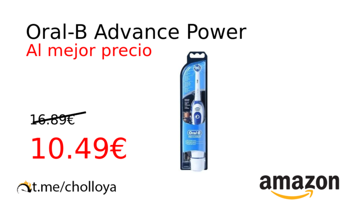 Oral-B Advance Power