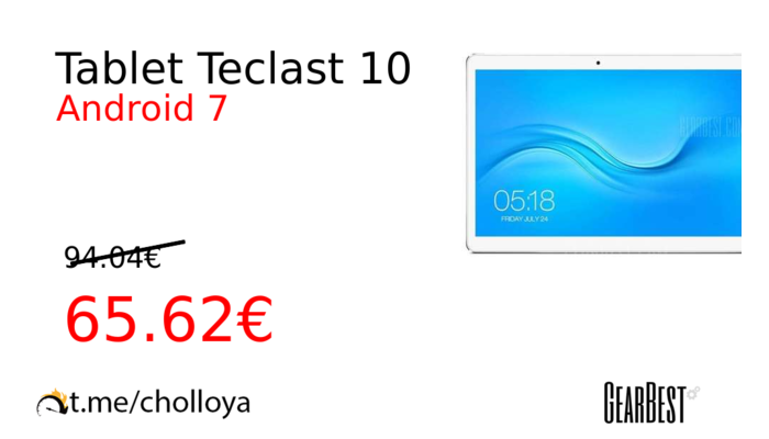 Tablet Teclast 10