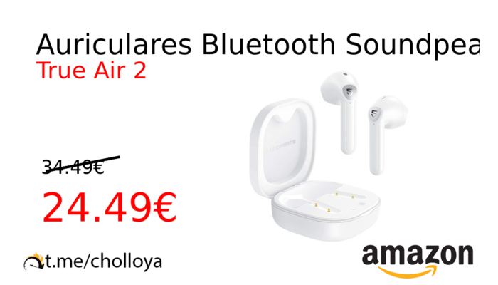 Auriculares Bluetooth Soundpeats