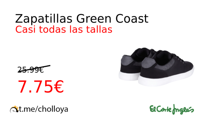 Zapatillas Green Coast