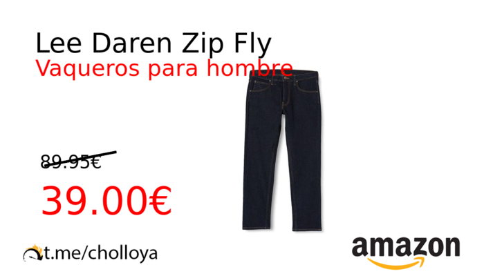 Lee Daren Zip Fly