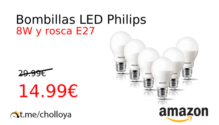 Bombillas LED Philips