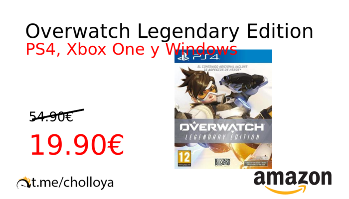 Chollo YA! Overwatch Legendary Edition