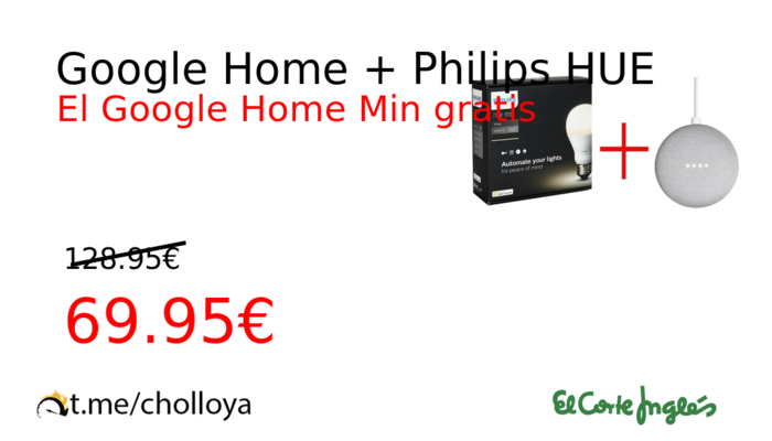 Google Home + Philips HUE