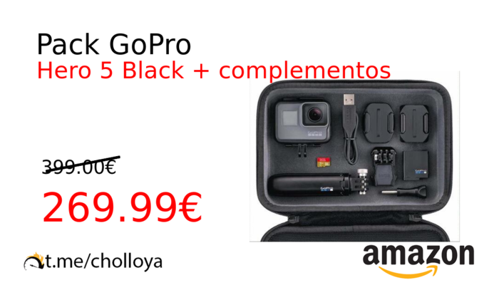 Pack GoPro